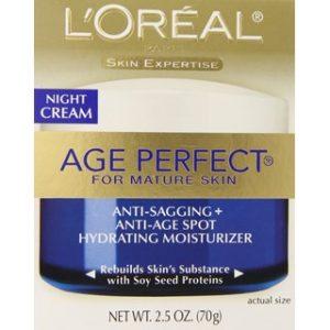 نقد و بررسی مرطوب کننده شب لورآل Age Perfect Anti-Sagging
