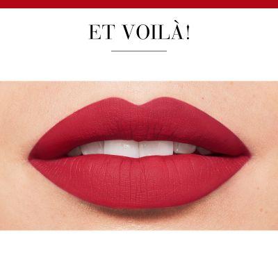 رژلب مایع Rouge Velvet بورژوا رنگ Red Volution