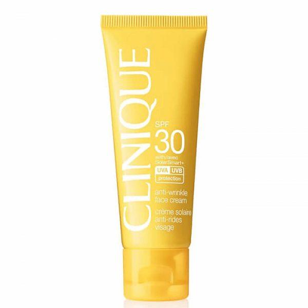 نقد و بررسی ضد آفتاب کلینیک Anti-Wrinkle